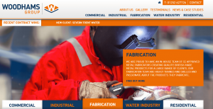 Woodhams Group Website