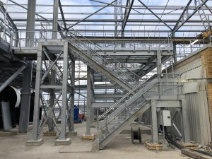 Galvinised Mild Steel Access Platform
